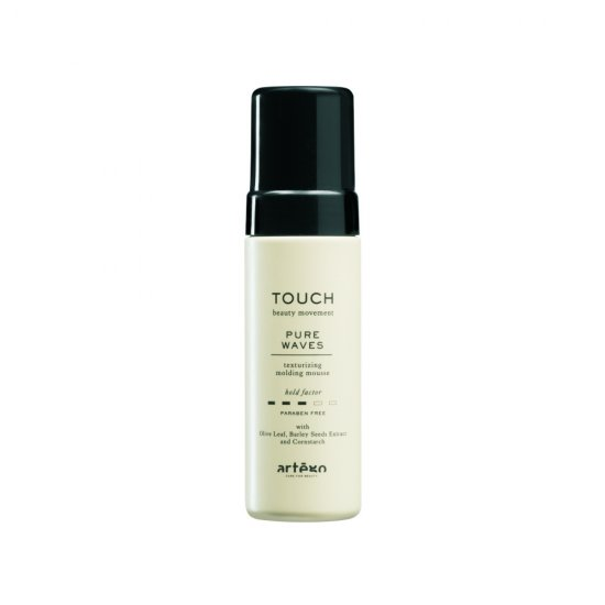 Touch Pure Waves, 150 ml - Spuma texturizanta fixare medie