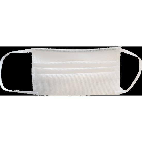 Masca de protectie reutilizabila, alb
