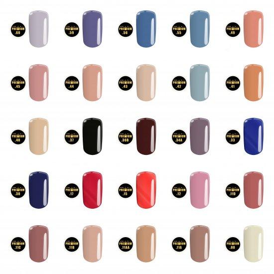 Gel color Premium Calsa 25 buc - Set 1