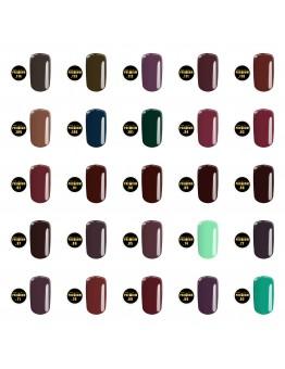 Gel color Premium Calsa 25 buc - Set 2