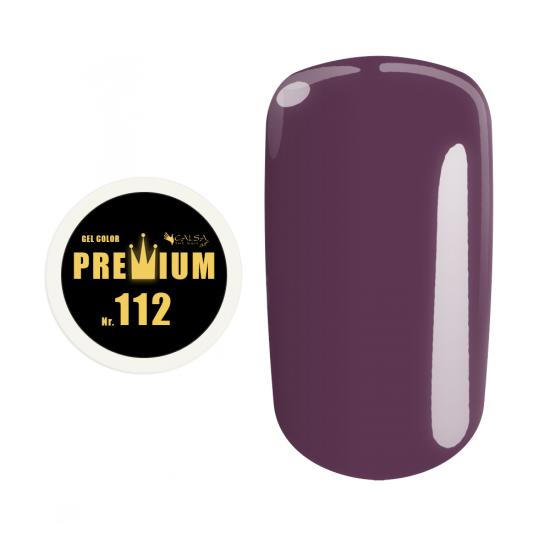 Gel color Premium - nr. 112, 5 ml