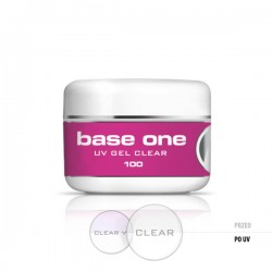 Gel de constructie Base One Clear Transparent, 100 g