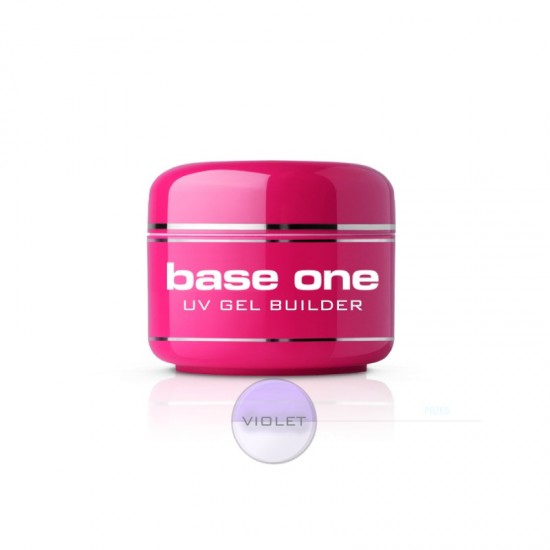 Gel de constructie Violet Clear, Base One, 50 g