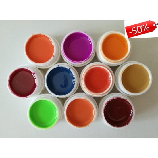 Gel color - Set 6