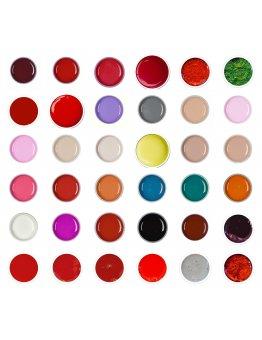 Set gel color 36 buc - set 1