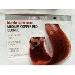 VOPSEA PERMANENTA IT`S COLOR 7.46 -7KR VOPSEA MEDIUM COOPER RED, 150 ML