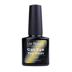 Top coat soak-off Lila Rossa Cameleon Cat Eye 7.3 ml gold