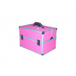 Geanta pentru cosmetice si manichiura mini pink - nr. 1