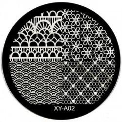Sablon stampila metal -XY-A02