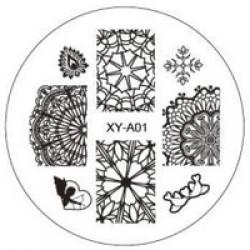 Sablon stampila metal - XY-A01