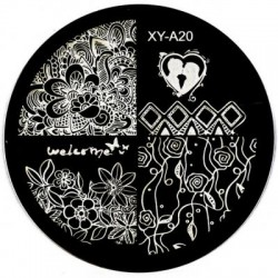 Sablon stampila metal - XY-A20