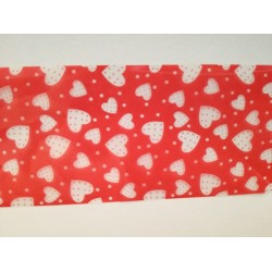Folie de transfer - Hearts, 80 cm