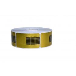 Sabloane inguste Gold - 500buc/rola