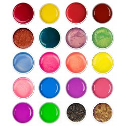 Gel color - Set Summer Colors