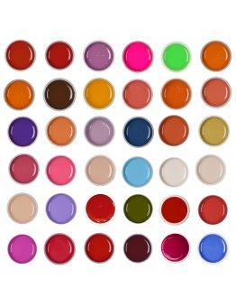 Set gel color 36 buc - set 3