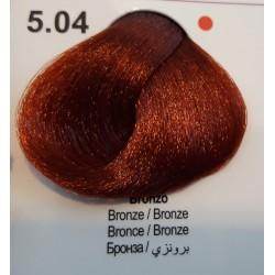 Vopsea de par CLR cu amoniac - nr. 5.04 - 100 ml