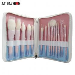 Set 14 pensule machiaj VDL Cosmetics cu gradient de culoare