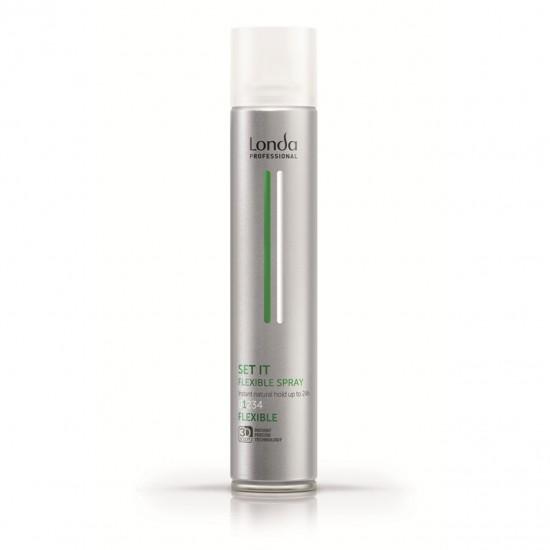 Fixativ cu fixare flexibila - Londa Professional Set It Flexible Spray, 500 ml