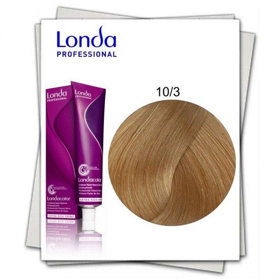 Vopsea permanenta - Londa Professional - 60 ml - 10/3