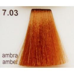 Vopsea de par CLR fara amoniac - nr. 7.03 - 100 ml