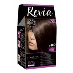 Vopsea de par Revia - nr. 10.2. Brown Chocolate - 50 ml