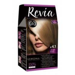 Vopsea de par Revia - nr. 4.1. Light Blonde - 50 ml
