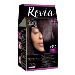 Vopsea de par Revia - nr. 9.2. Irisse Brown - 50 ml